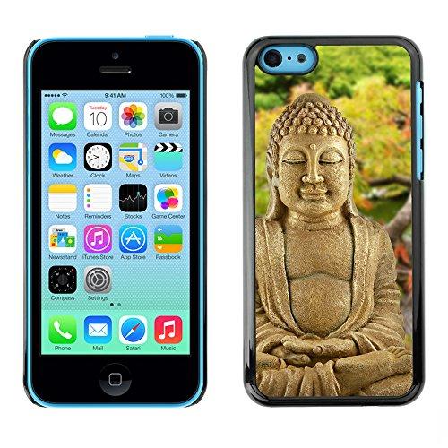 Premio Sottile Slim Cassa Custodia Case Cover Shell // V00001631 buddha jardin // Apple iPhone 5C