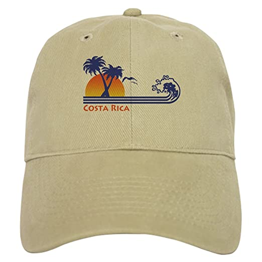 faef82ad63a Amazon.com  CafePress - Costa Rica - Baseball Cap with Adjustable ...