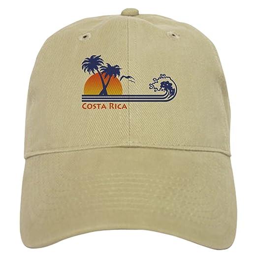 Amazon.com  CafePress - Costa Rica - Baseball Cap with Adjustable ... daa29634b2ef