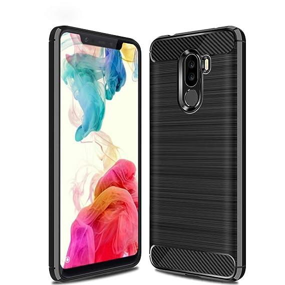 newest 1ae47 a6613 Amazon.com: Xiaomi Poco F1 Case, TopACE Ultra Thin Carbon Fiber ...