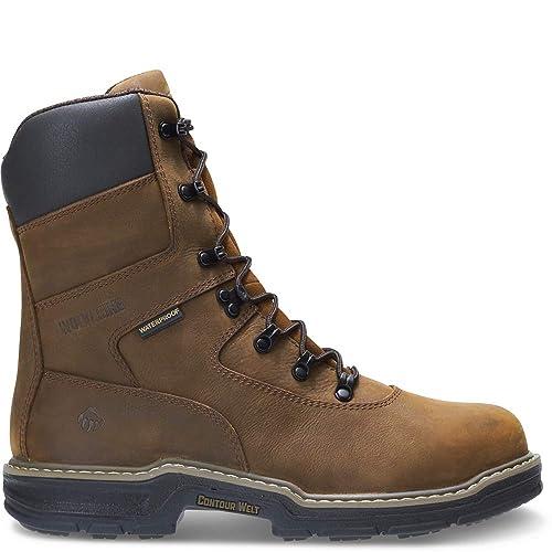 2a9896c4397 Wolverine Men's Marauder 8 Inch Contour Welt Steel Toe EH Work Boot