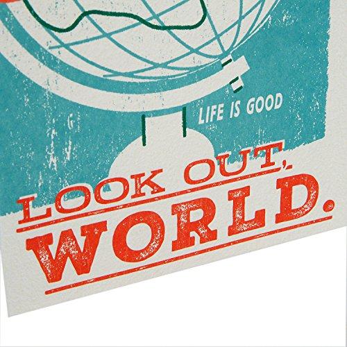 Hallmark Life is Good Graduation Greeting Card (Look Out, World) Photo #6