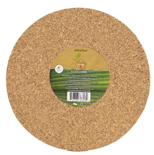 Plastec ECR08 Eco Cork Mat, 8-Inch - 100063920