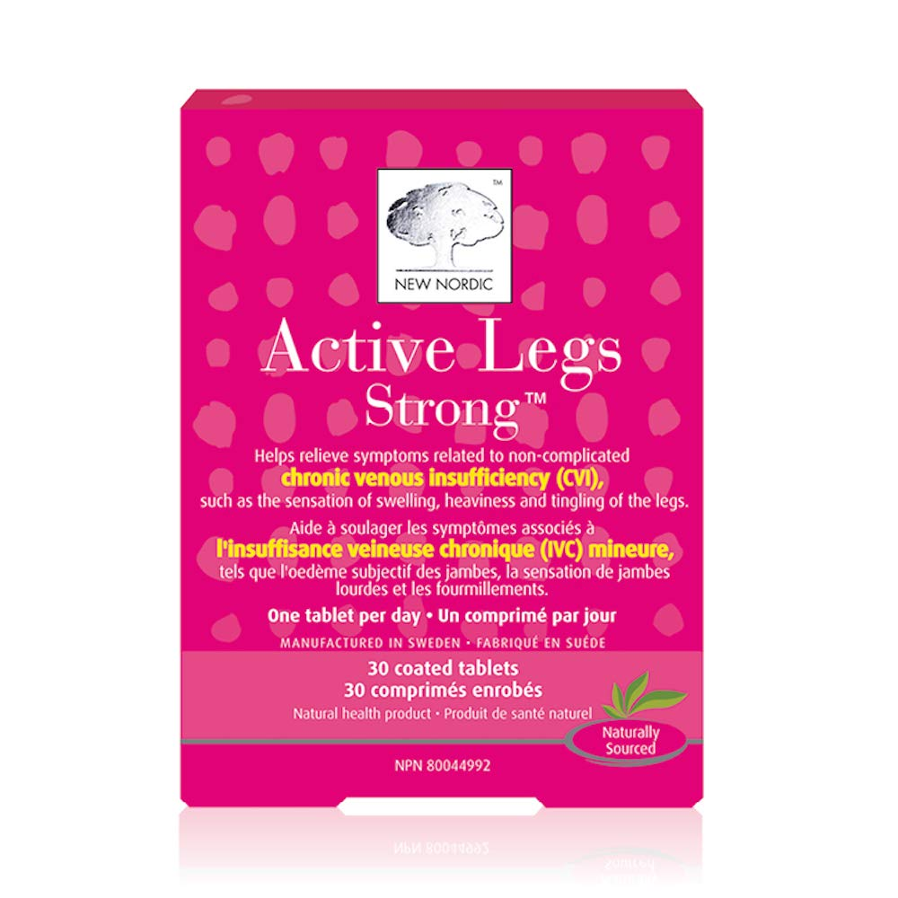 New Nordic Active Legs Herbal Supplement, 30 Count