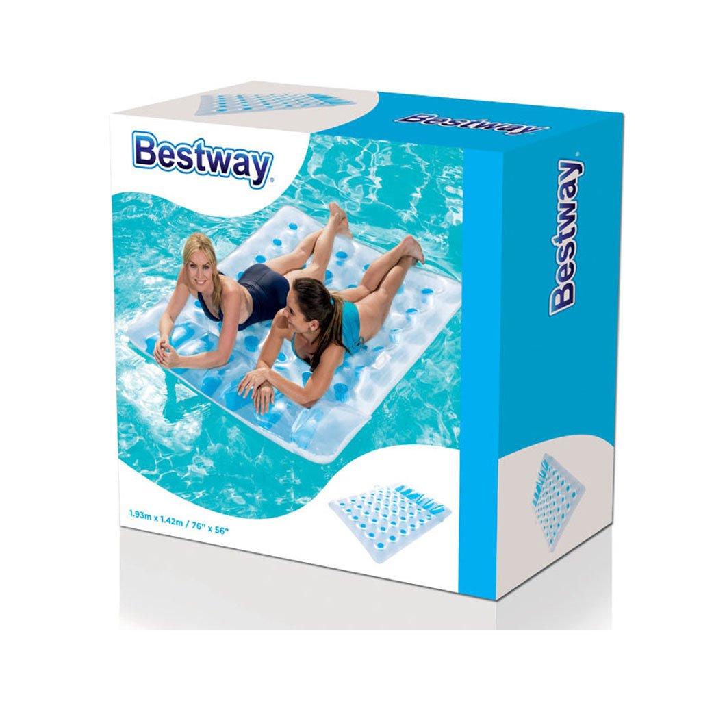 Aufblasbare schwimmende Reihe Sechsunddreißig Löcher Double Floating ...