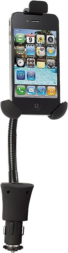Callstel Autohandyhalter Kfz Halterung Mit Elektronik