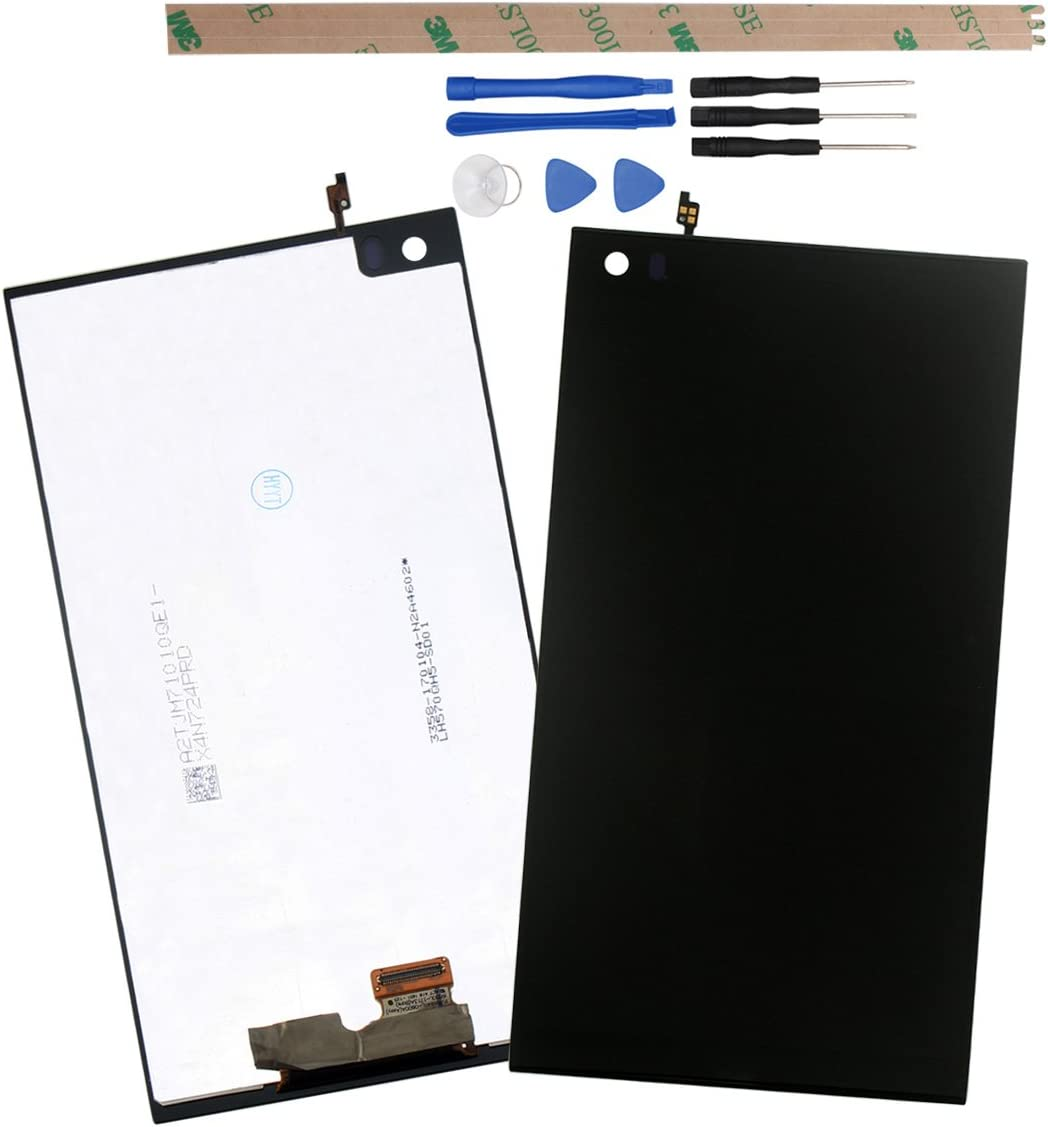HYYT Replacement for LG V20 H918 LS997 US996 VS995 H990TR H910 H990ds H990 H91 LCD Screen LCD Display and Touch Screen Digitizer Glass Replacement Assembly Without Frame(Black)