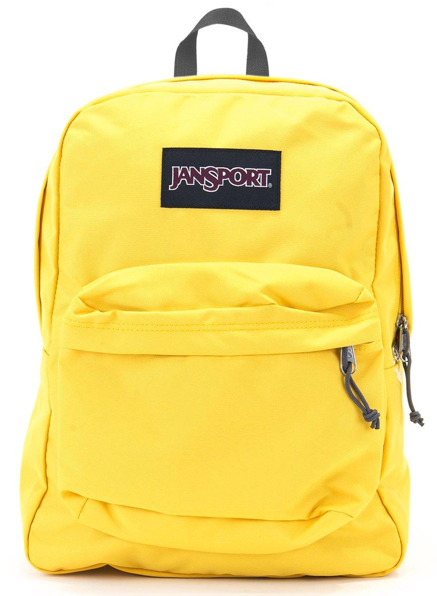 Jansport Superbreak Backpack (yellow spectra) by JanSport