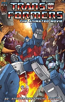 Transformers: Animated Movie Adaptation (Transformers (Idw)) by Budiansky, Bob (2007) Paperback