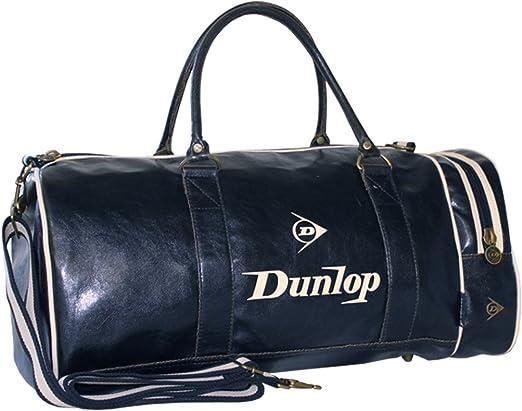 DUNLOP RETRO SPORTS DUFFLE BAG GYM WEEKEND FLIGHT WORK TRAVEL HOLDALL SHOULDER