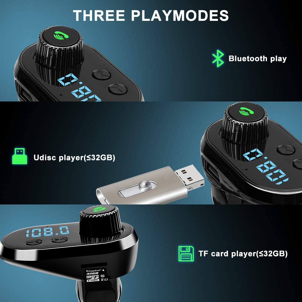 Bluetooth Fm Transmitter Mit Autoladekabel Auto Radio Elektronik