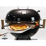 Smokin' PizzaRing - Komplettpaket für Pizza! Backe die perfekte Pizza in deinem Kugelgrill!