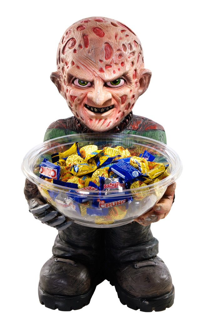 Rubie's A Nightmare on Elm Street Freddy Krueger Candy Bowl Holder Rubies - Domestic 68288
