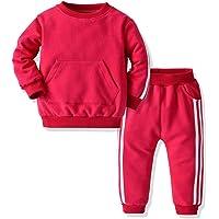 Joycebaby Unisex Baby Boys Girls Tracksuit 2-Piece Tricot Sweatshirt Jacket and Pant Active Clothing Set