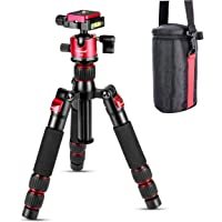 Koolehaoda Mini statyw stołowy ze stopu aluminium 7.5-21 cali z regulacją wysokości z torbą do przenoszenia kamery wideo…