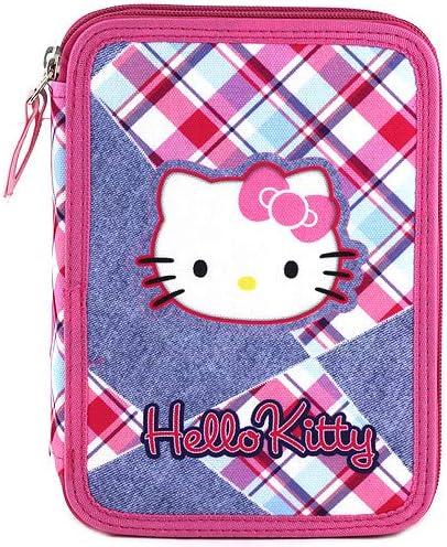 Hello Kitty - Estuche de dos pisos: Amazon.es: Oficina y papelería