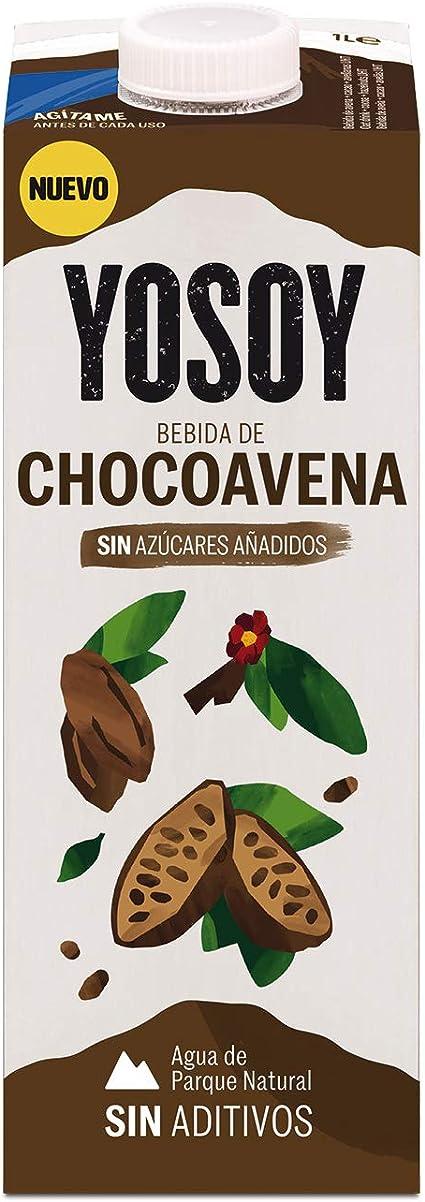 Yosoy - Bebida de Chocoavena - Caja de 6 x 1L: Amazon.es: Alimentación y bebidas