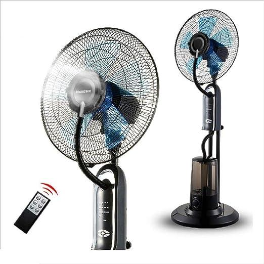 Tipo de piso Ventilador frío Inicio Ventilador de cabeza móvil silencioso Más Enfriamiento por agua y enfriamiento Ventilador anti-mosquito atomizador A + (Color : 3#): Amazon.es: Hogar