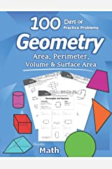Humble Math - Area, Perimeter, Volume, & Surface Area: Geometry for Beginners - Workbook with Answer Key (KS2 KS3 Maths) Elementary, Middle School, High School Math – Geometry for Kids Paperback