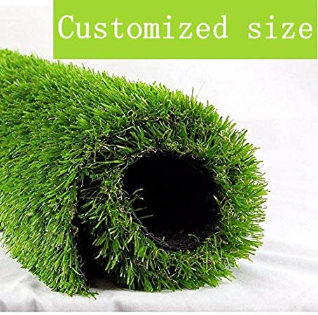 Amazon Com Altruistic Artificial Grass 4ftx7ft 28 Square Feet Realistic Fake Grass Deluxe Turf Synthetic Thick Lawn Pet Turf 1 3 8 Height Outdoor Decor Customized Garden Outdoor