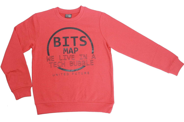Losan Jungen T-Shirt Langarmshirt rojo oscuro longsleeve rot