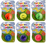 Henbrandt Trick Furry Magic Twisty Worm Toy Party Bag Girls Boys Childrens Kids Party