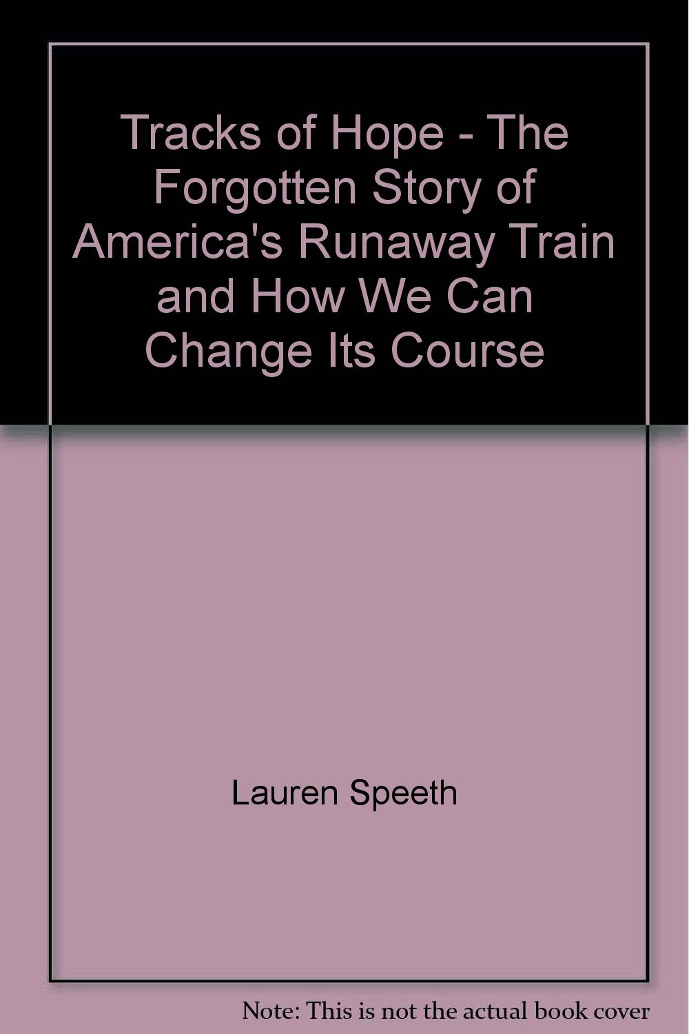 Download Tracks of Hope - The Forgotten Story of America's Runaway Train and How We Can Change Its Course pdf
