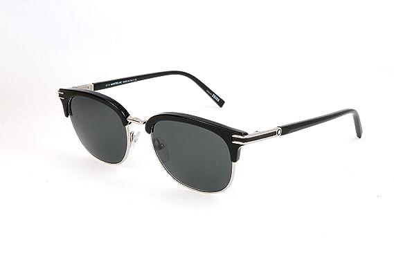 c1fa2f8a53 Mont Blanc Unisex adulto Gafas de sol, Negro (Black), 52: Amazon.es: Ropa y  accesorios