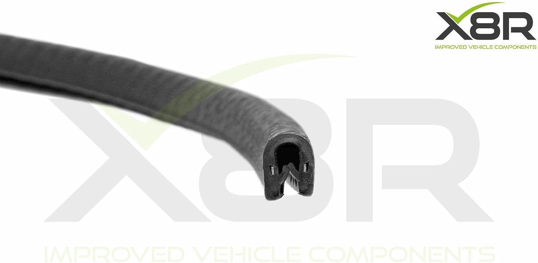 Small Black Rubber PVC Car Van Boat Truck Protect Interior Exterior Trim Seal