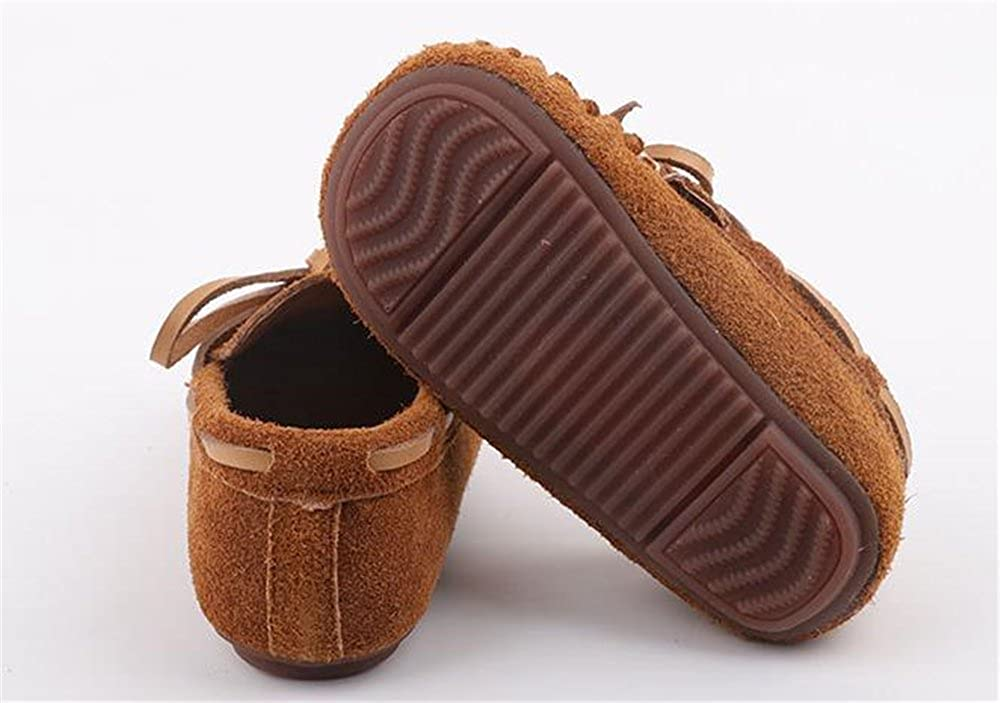 Super frist Boys Girls Adorable Bow Colorful Casual Flat Shoes