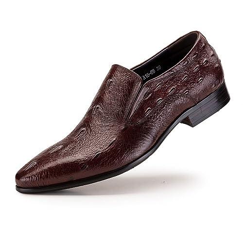Nuove Scarpe da Uomo in Pelle di Classe Business Slip on in Pelle con Scarpe  Formali Primavera Autunno Comfort Mocassini Scarpe da Passeggio Scarpe da  ... a6d0444dc13