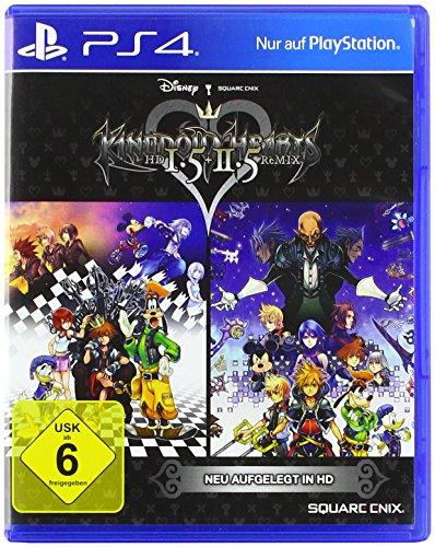 Price comparison product image KINGDOM HEARTS HD 1.5 & 2.5 ReMIX (PlaysStation PS4). Sprachausgabe: Englisch
