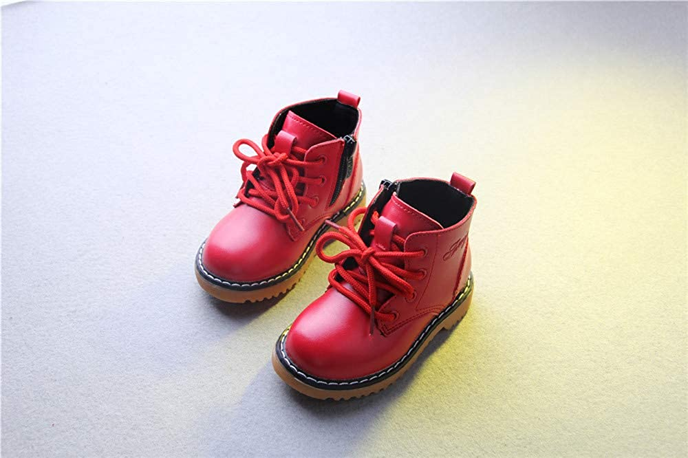 MIKA HOM Martin Boots Lace-up Shoes Little Kids//Toddler//Big Kids Rain Boots