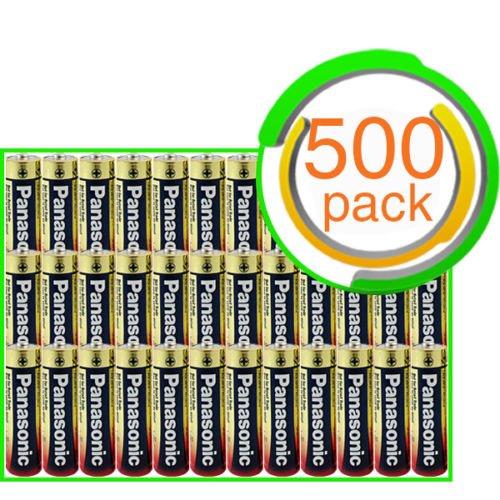 500x Panasonic Industrial AAA Batteries Alkaline Bulk Wholesale Lot Exp. 2023