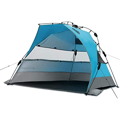 Qeedo Quick Bay XL Tienda de Playa Grande para 3 Personas (Quick-Up-System)