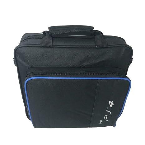 Consola de Juegos Bolsa de Almacenamiento Bolsa de Hombro Estuche de Viaje A Prueba de Golpes Bolsa de Mano Impermeable para la Consola PS4 Accesorios