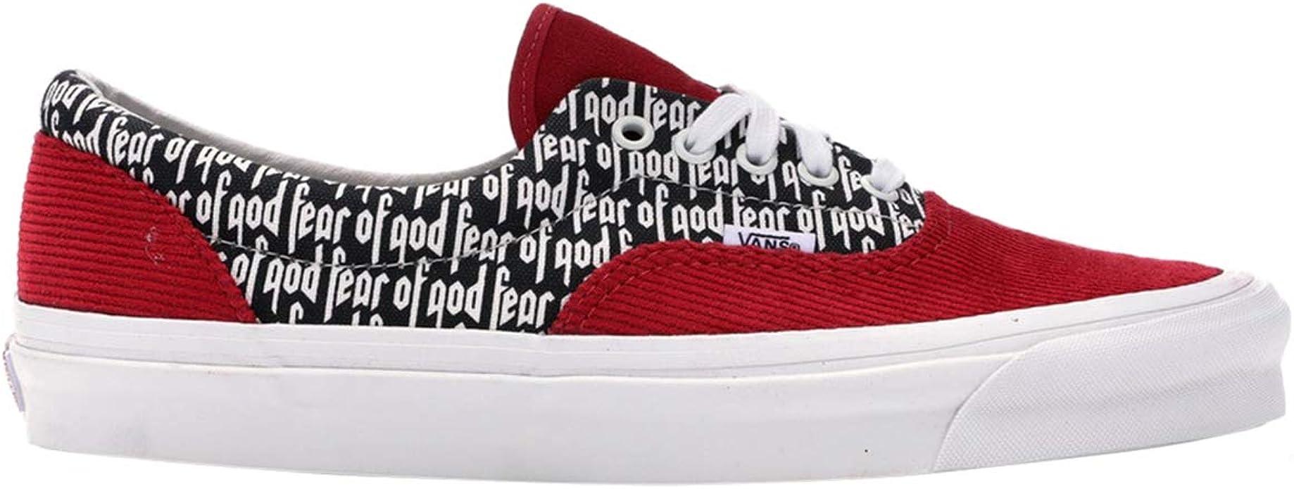 Vans Herren Era 95 Dx Fear of God, Rot (RedCorduroyPrint