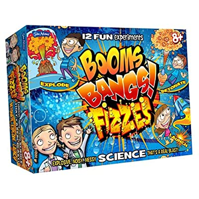 John Adams Booms Bangs Fizzes Science Kit from: Toys & Games