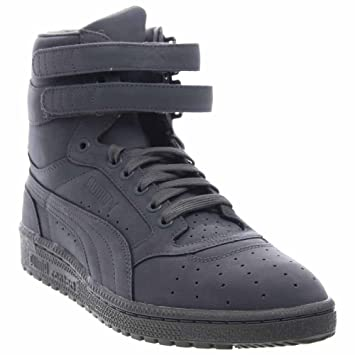 490fe711085 Puma Sky II Hi Mono NBK Mens Grey Nubuck High Top Lace Up Sneakers Shoes 8   PUMA  Amazon.ca  Sports   Outdoors