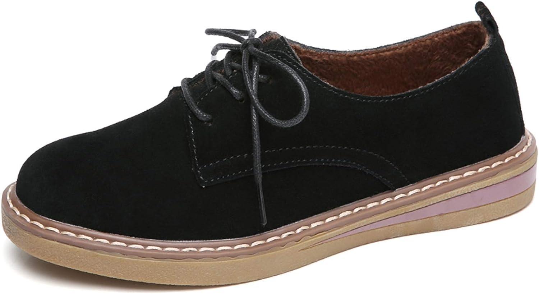 VenusCelia Women's Classic Oxford Flat Shoe