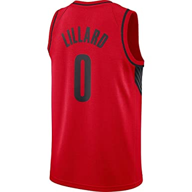Image Unavailable. Image not available for. Color  Damian Lillard Red  Swingman Jersey e253f9adff5c