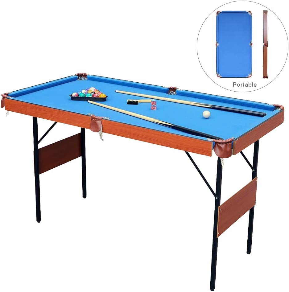 - AIPINQI Pool Table,4ft Folding Pool Table Mini Pool Table Tabletop