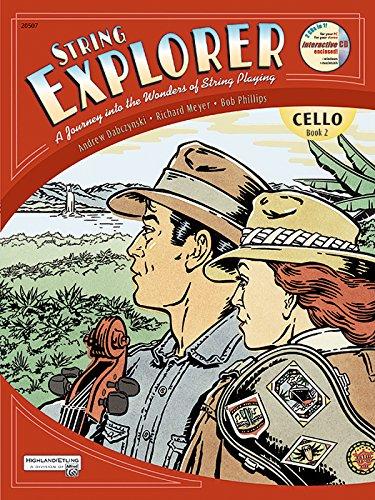 (String Explorer, Bk 2: Cello, Book & Interactive CD)