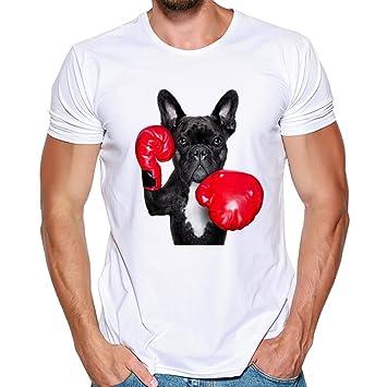 Camiseta de Hombre Deporte de Verano para Hombres Blusas de ...