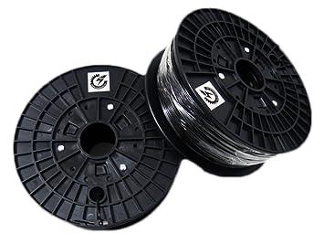Impresora 3D Cloud Pla Filament para Impresora 3D Negro: Amazon.es ...