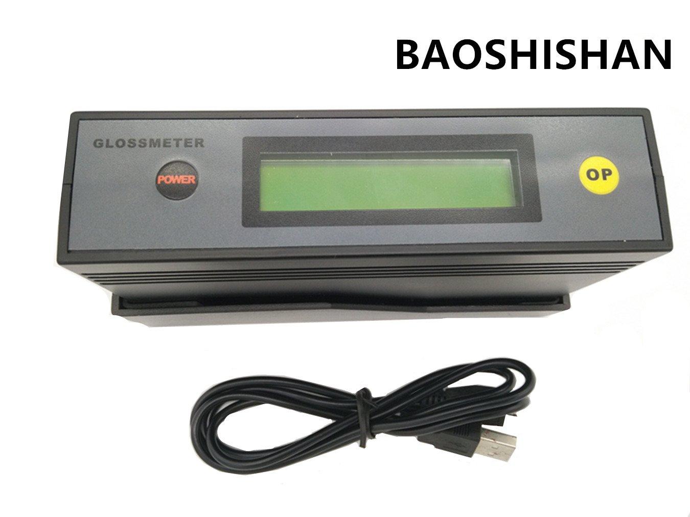 Glossmeter Gloss Meter Tester 20,60,85 Degree ETB-0833 0-200Gs