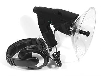 Amplificador de sonido parabólico para coto de caza / Micrófono parabólico Micrófono direccional Amplificador de ruido Mira óptica: Amazon.es: Deportes y ...