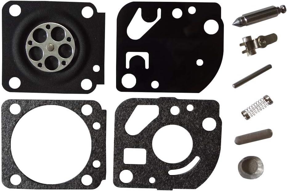 Kit de R/éparation Carburateur Remplace ZAMA RB-59 pour Echo ES2100 PB2100 ES2400 ZAMA C1U-K42 K43 K44