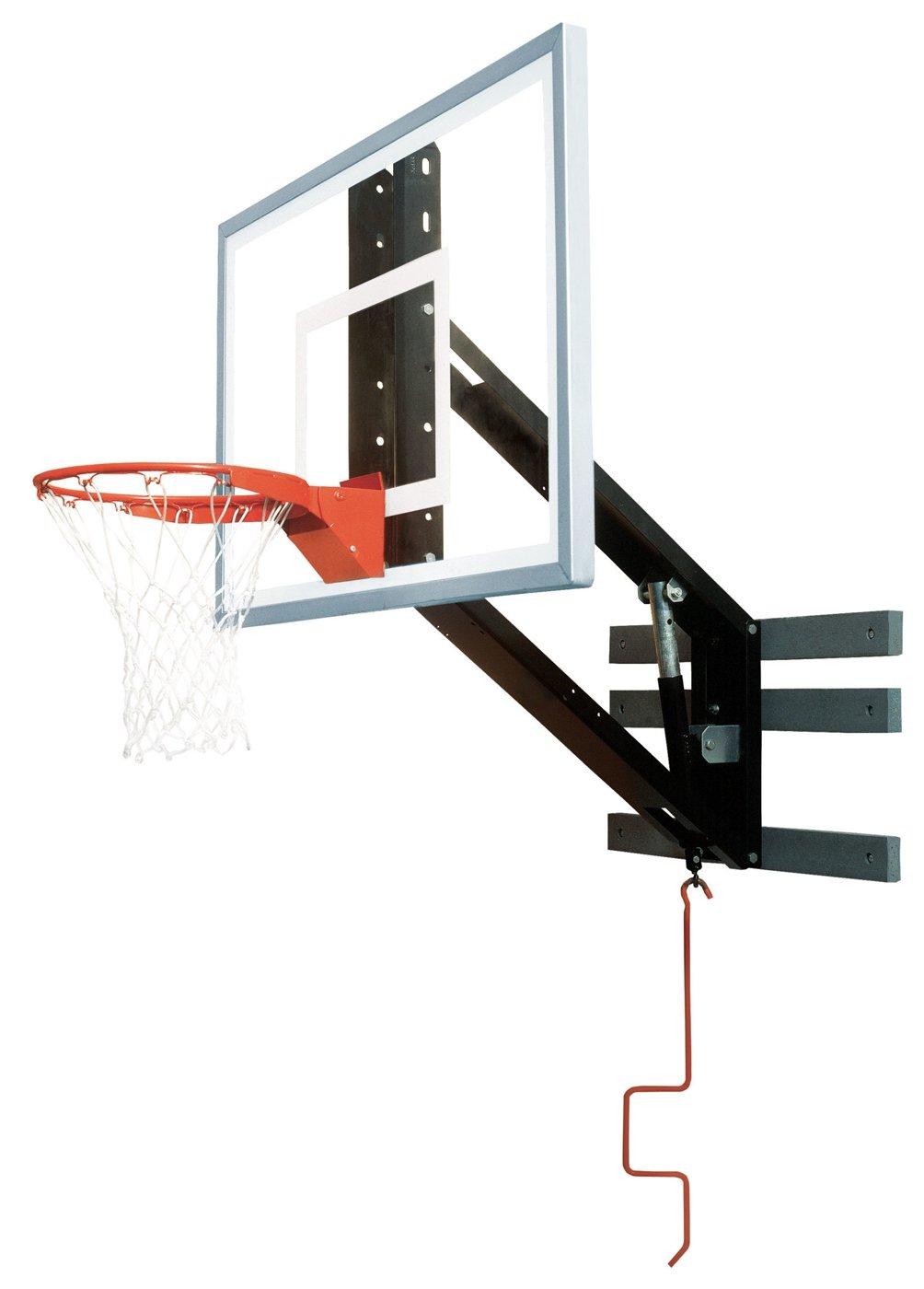 非売品 Bison pkg300 zipcrank壁マウント調整可能バスケットボールフープ B0000BZG5K, F-ROOM a103f571