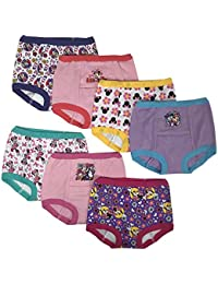 Disney Minnie Mouse Girls Potty Training Pants Panties Underwear Toddler 7-Pack Size 2T 3T 4T